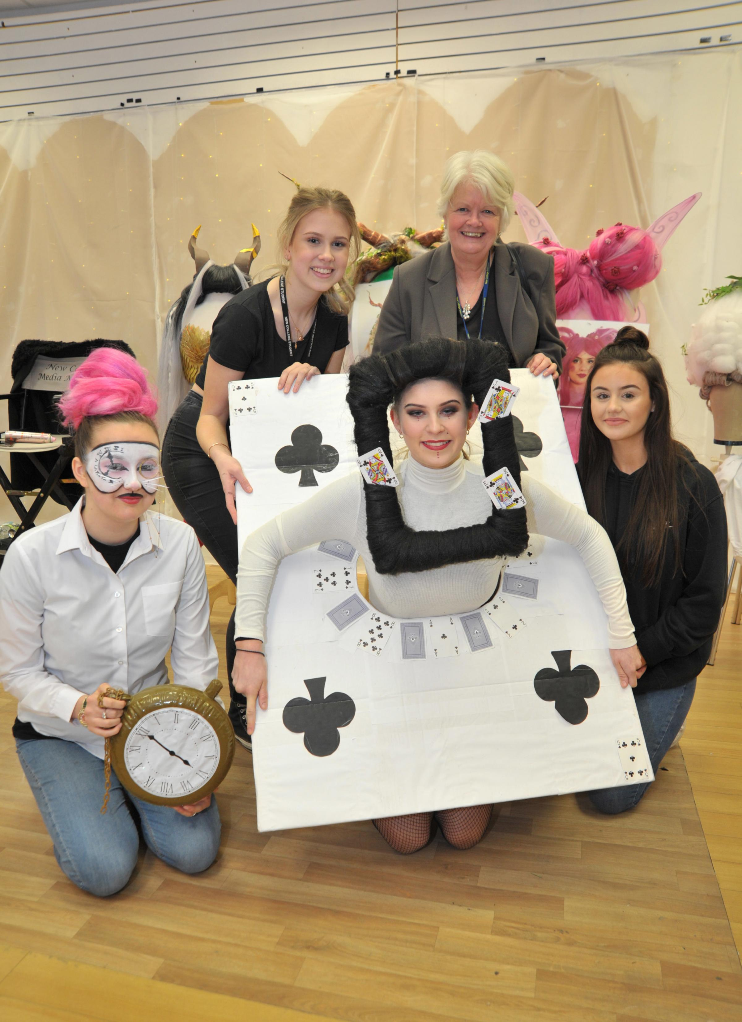 New College students creates exhibition of makeup and costumes in Swindon