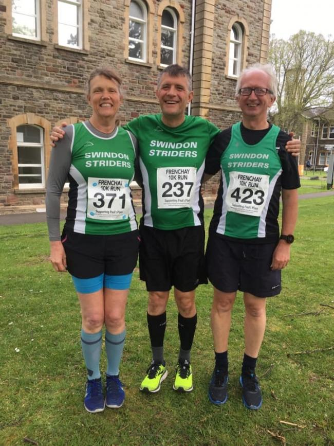 Swindon Striders had a presence at the recent Frenchay 10k race