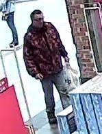 Police want to speak to this man after a Swindon toy theft Picture: WILTSHIRE POLICE