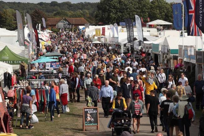The show attracts big crowds