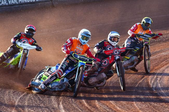 Belle Vue Aces 49 Swindon Robins 41; Monday, May 20, 2019; PICTURE: LES AUBREY