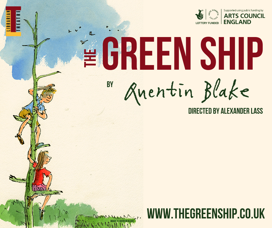 The Green Ship by Quentin Blake