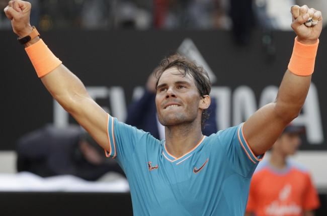 Rafael Nadal savoured another title in Rome