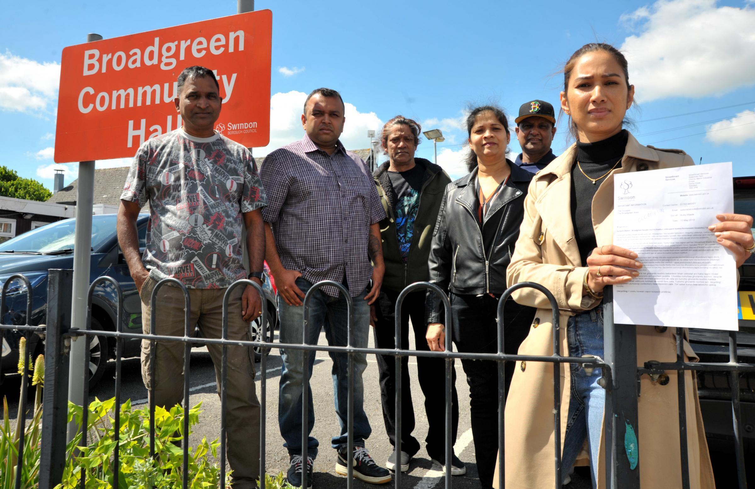 Fly-tipping letter upsets Swindon Goan community