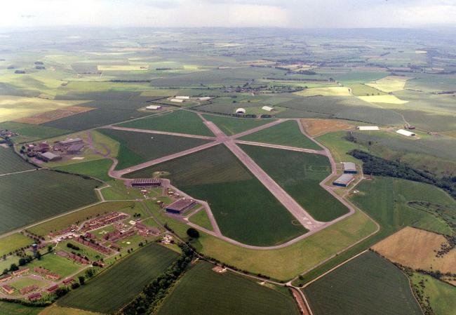 The Science Museum collections facility is based on the old Wroughton Airfield