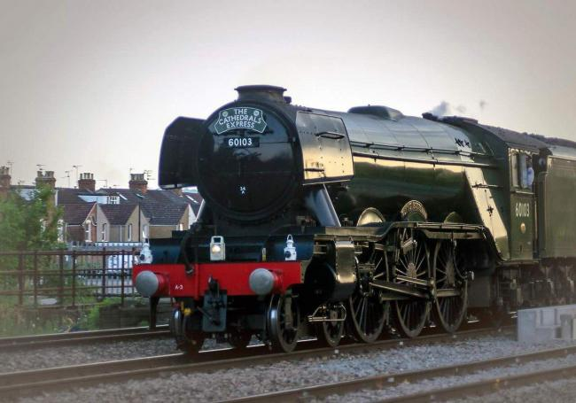 Flying Scotsman in Swindon in 2016 Picture: Phil Jefferies