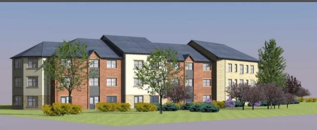 Plans for a care home to be built on Marsh Farm