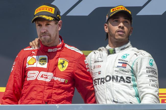 Sebastian Vettel was denied victory in Canada