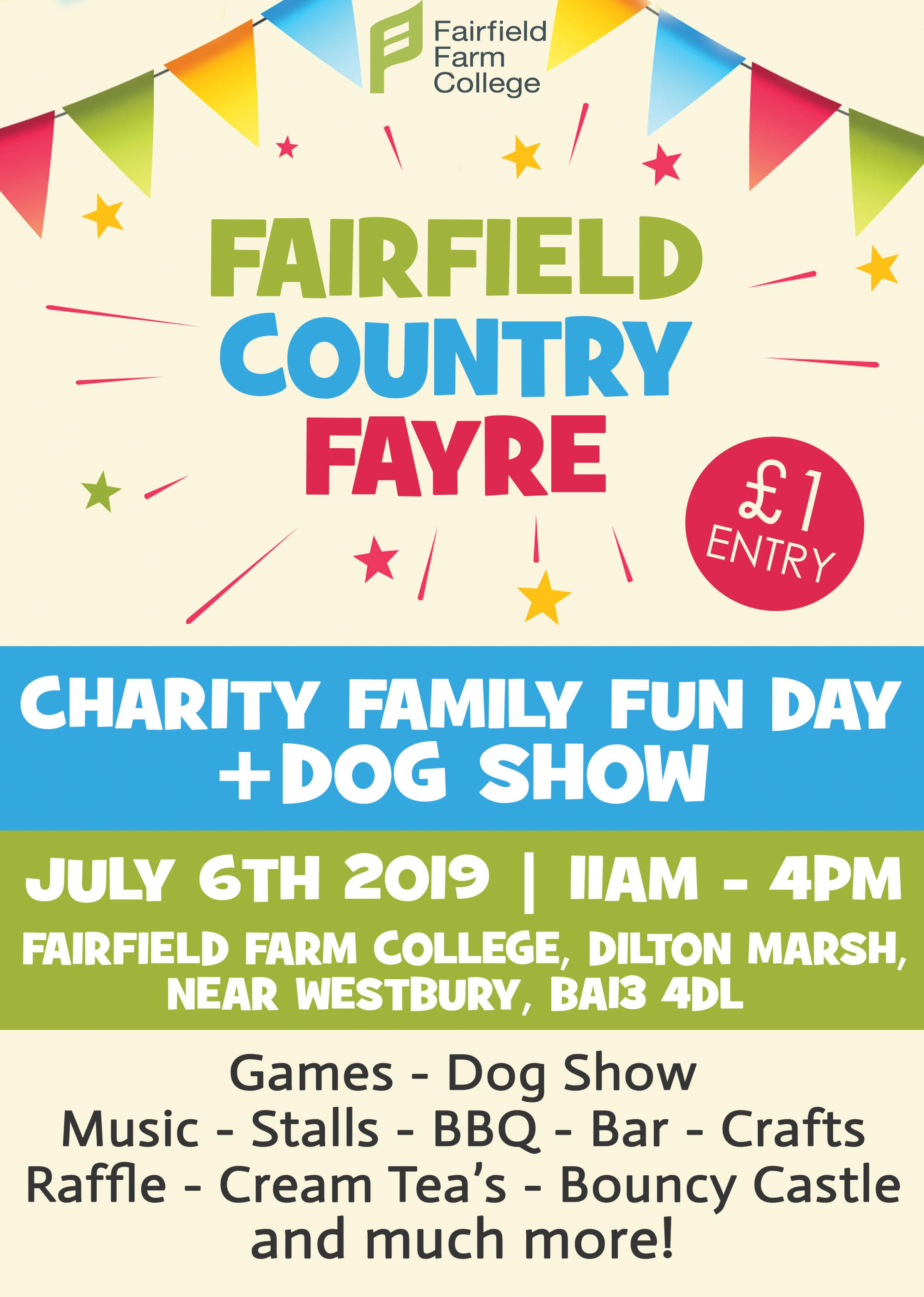 Fairfield Farm College Country Fayre
