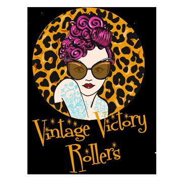 Vintage Victory Rollers in Gorsehill. Specialising in vintage up dos and styling as well as cuts and vivid colours.