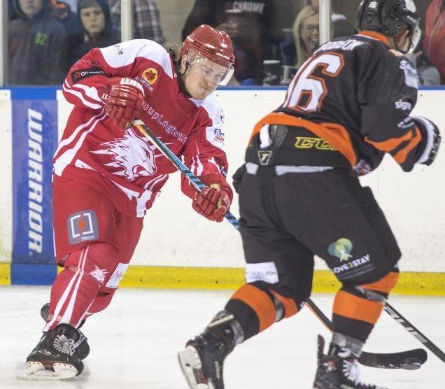 Loris Taylor signed a new one-year deal to stay at Swindon Wildcats earlier this week