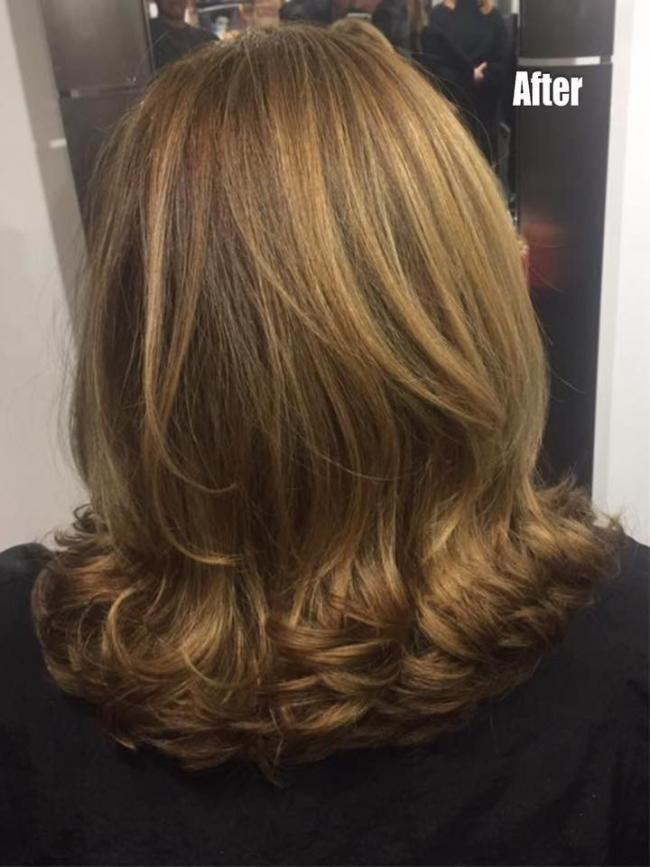Janes is a very talented hairdresser who can achieve a lovely curly blow dry