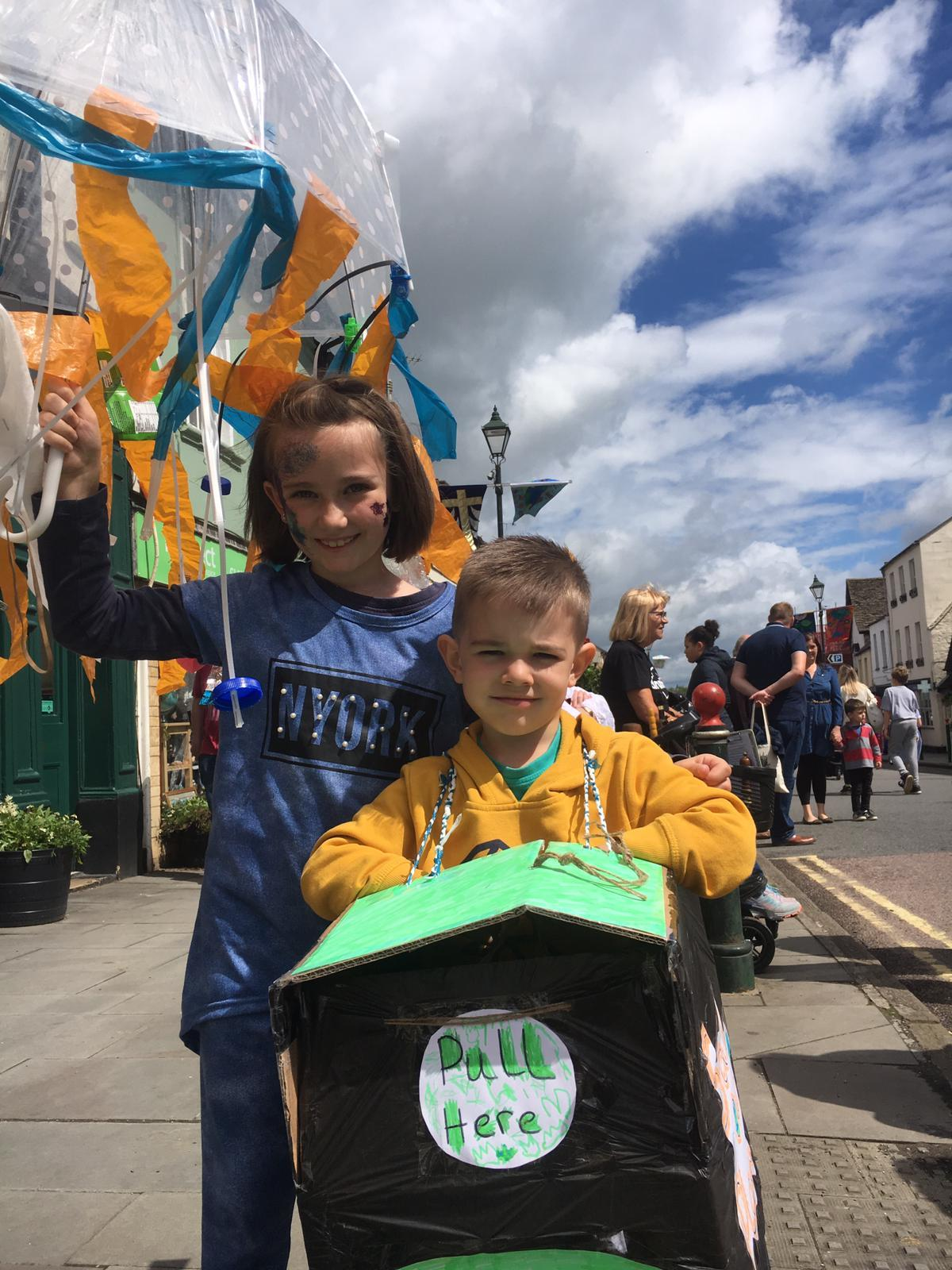 Environment at fore for children in Cricklade Festival 2019 parade
